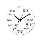 WASHAMl-造型復古掛鐘(數學)