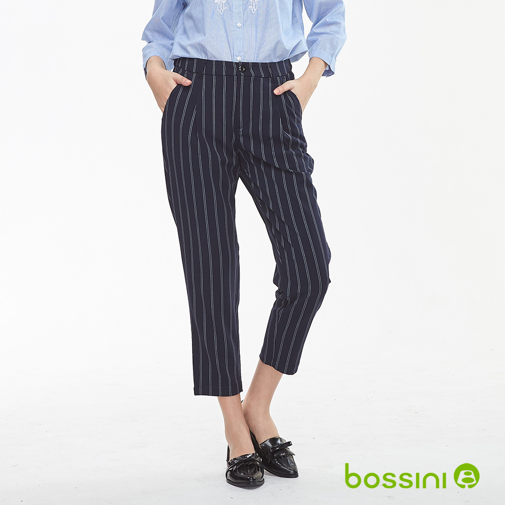 bossini女裝-彈性修身褲04葡萄色