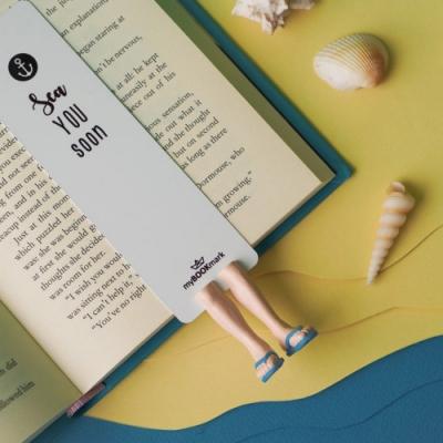烏克蘭myBookmark-夏日海灘鞋(藍)
