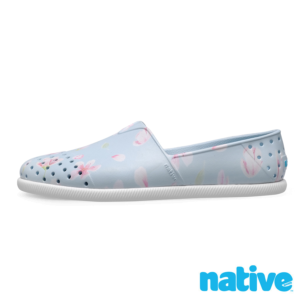 native VERONA 男/女鞋-粉藍雪