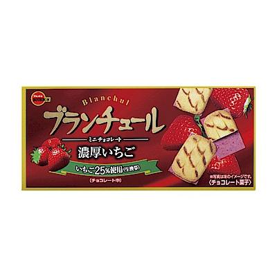 (活動)Bourbon北日本 迷你濃厚草莓風味脆餅(42g)