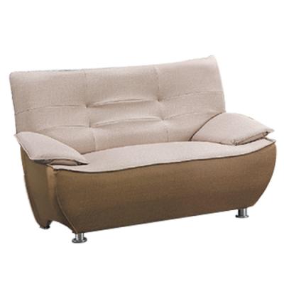文創集 麥隆時尚雙色貓抓皮革獨立筒二人座沙發椅-220x94x76cm免組