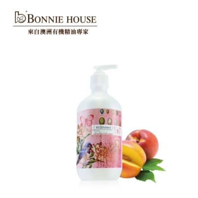 Bonnie House 乳草斑蝶油桃紅醋栗洗髮乳500ml