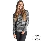 【ROXY】AT MY WINDOW 條紋上衣 黑色
