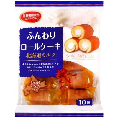 山內製果 牛奶風味蛋糕捲(170g)