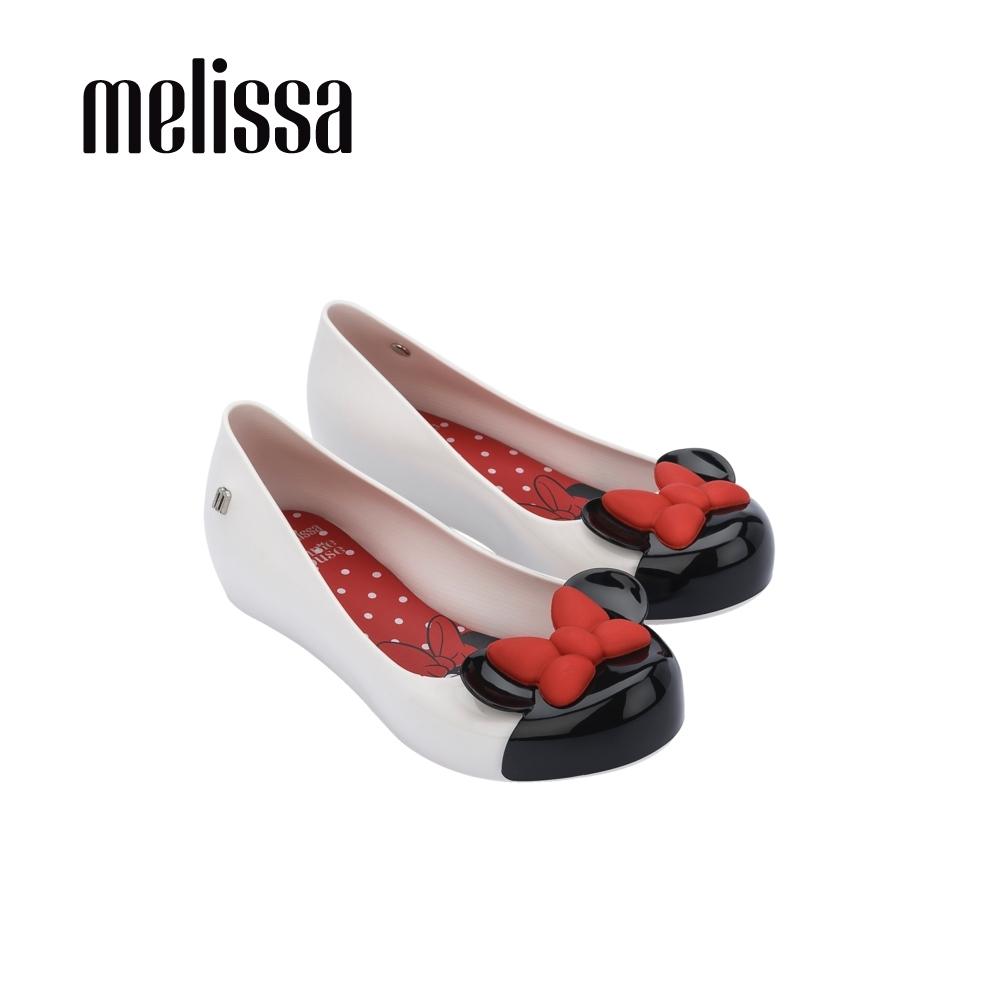Melissa x MICKEY AND FRIENDS 蝴蝶結娃娃鞋 兒童款-白