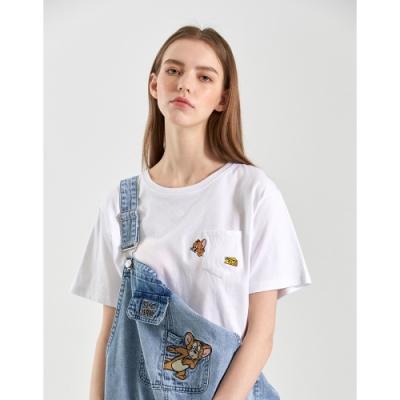CACO-MIT 傑利鼠口袋上衣-女【B2WB004】
