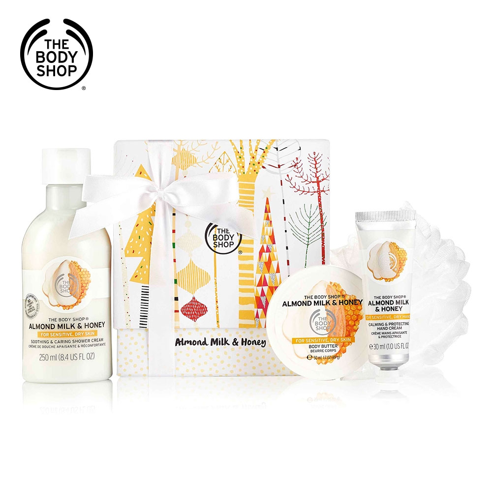 The Body Shop 杏奶花蜜精選原裝禮盒 product image 1