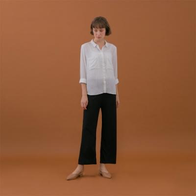 【時時樂】GIORDANO女裝細針織垂墜風寬褲