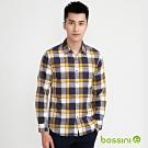 bossini男裝-牛津襯衫01黑白