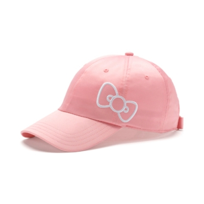 PUMA-女性PUMA x HELLO KITTY棒球帽-銀光粉