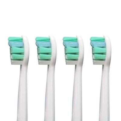 (1卡4入)副廠 牙菌斑清除牙刷頭 HX9033 HX9034(相容飛利浦 電動牙刷)