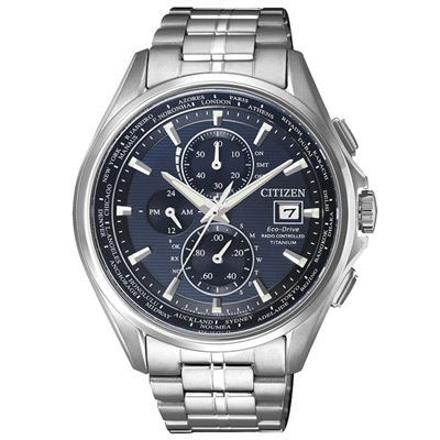 CITIZEN Eco-Drive 光年電波鈦金屬男錶(AT8130-56L)-42mm