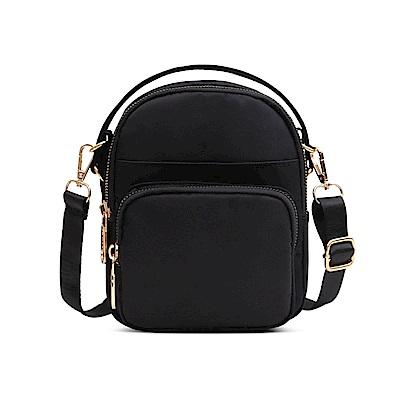 AT2703BK韓版迷你時尚手提包側背包黑色