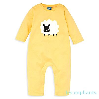 les enphants baby有機動物園綿羊連身裝 (2色可選)