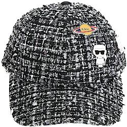 KARL LAGERFELD KARL IN SPACE 太空系列 毛呢棒球帽