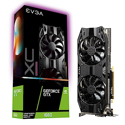 艾維克EVGA GTX1660 6G XC ULTRA GAMING PCI-E顯示卡