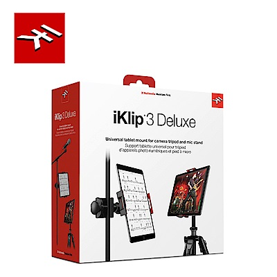 IK Multimedia iKlip 3 Deluxe 平板專用支架夾