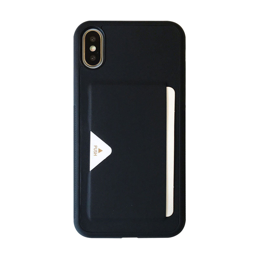 【TOYSELECT】iPhone Xs Max TYS感應插卡機能防摔殼