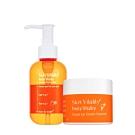 Skin Vitality 膚能量 果然淨化潔顏冰淇淋50g+果然淨白化妝水 150mL