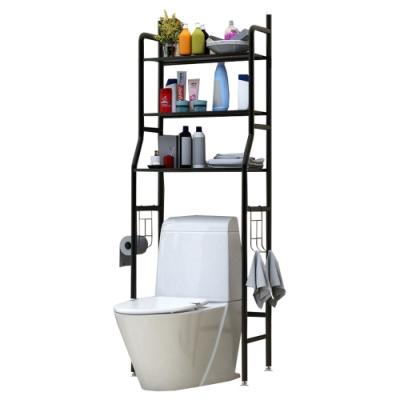 [雙11團購]LifeEnjoy 浴廁多功能落地收納-馬桶架2入