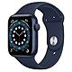 Apple Watch Series 6 (GPS) 44mm 藍色鋁金屬錶殼+藍色錶帶(M00J3TA/A) product thumbnail 1