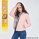 GIORDANO 女裝輕量素色連帽鋪棉外套-16 珍珠桃粉
