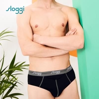 sloggi men Start HO系列合身三角褲 經典黑