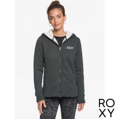 【ROXY】SLOPES FEVER 連帽外套 灰色