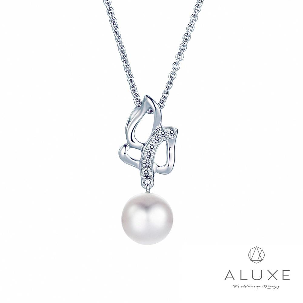 A-LUXE 亞立詩 寵愛系列7-7.5mm 天然淡水養珠珍珠項鍊