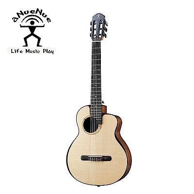 [無卡分期-12期] aNueNue MN214E 飛鳥全單電古典吉他 月亮雲杉印度玫瑰木