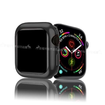 XUNDD 訊迪 Apple Watch 4 (40mm) 全包金屬色防摔軟殼 (宇宙黑)