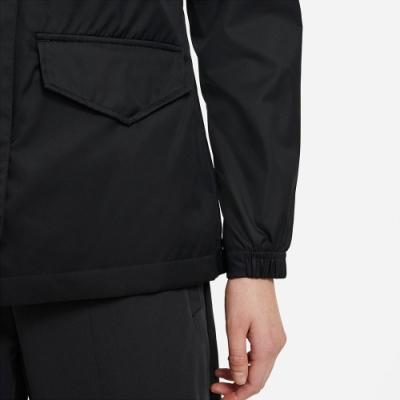 NIKE 外套 運動外套 立領 慢跑 健身 女款  黑 CZ8973010 AS W NSW CLCTN ESS M65 WVN