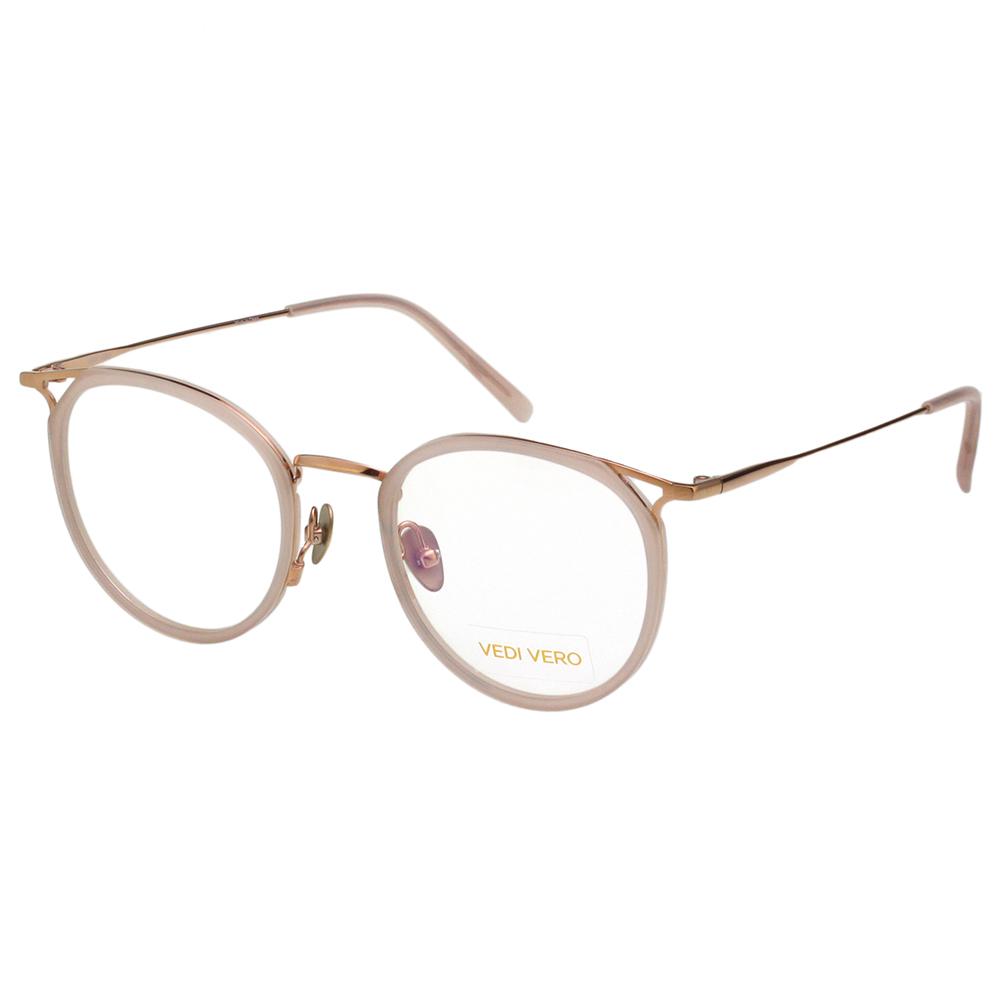 VEDI VERO 優雅小復古 β鈦 光學眼鏡 (裸色) @ Y!購物