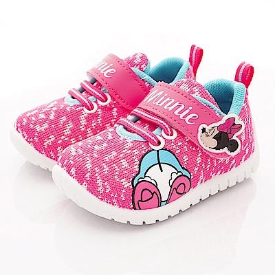 迪士尼童鞋 米妮針織休閒鞋款 ON19308桃(小童段)