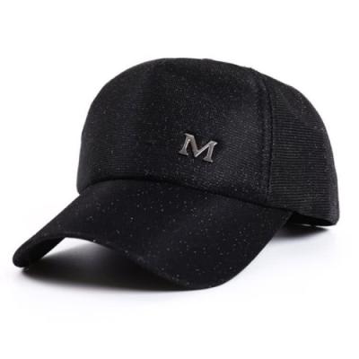 【89 zone】韓版幻色星河運動防曬/遮陽棒球帽 (黑)