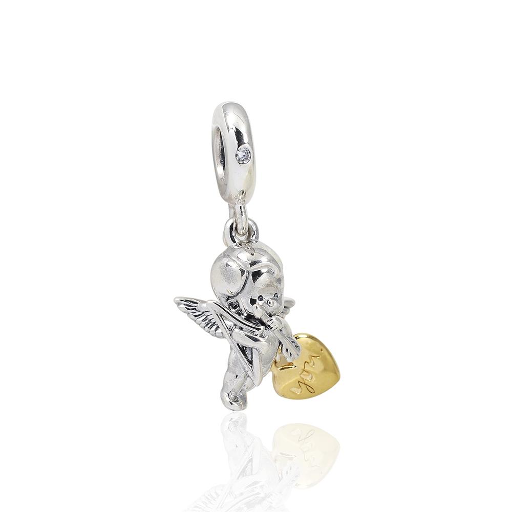 Pandora 潘朵拉 魅力丘比特 垂墜純銀墜飾