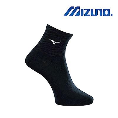 Mizuno 美津濃 大童運動薄底短襪 7入 黑x白 32TX8A5591
