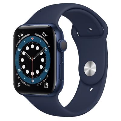 Apple Watch Series 6 (GPS) 44mm 藍色鋁金屬錶殼+藍色錶帶 M00J3TA/A