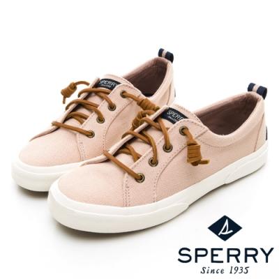 SPERRY 復古風尚經典帆布鞋(女)-粉