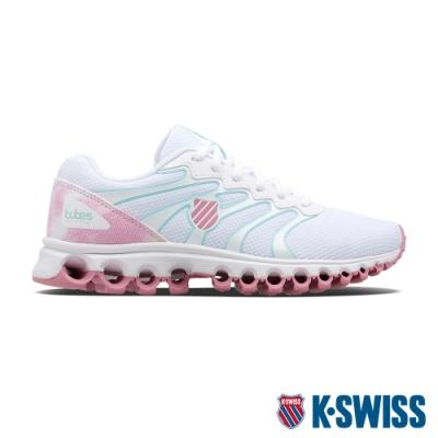 K-SWISS Tubes Comfort 200 Collab 輕量訓練鞋-女-白/粉紅/粉彩花布