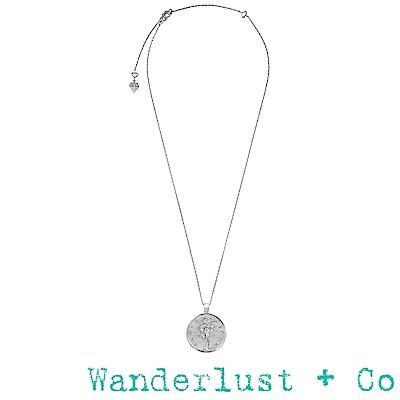 Wanderlust+Co 月亮女神塞勒涅項鍊 - 銀色