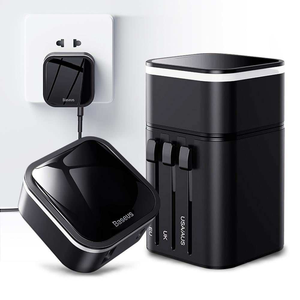 Baseus倍思 PPS專為旅行設計PD3.0快充+QC3.0全球通用萬用充電器
