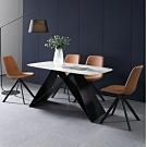 MUNA 喬伊5.3尺石面餐桌(不含椅) 160X80X75cm