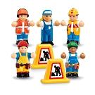 英國驚奇玩具 WOW Toys 小玩偶 - 工程好朋友小組