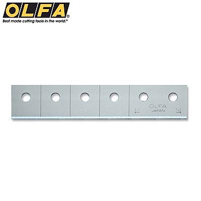 日本OLFA開箱刀刀片替刃CTB-5(合金工具鋼;5枚入)適CTN-1