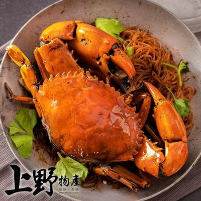 【上野物產】港粵樓菜旭蟹咖哩粉絲煲(850g±10%/固形物650g/份)x2份