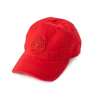 Timberland 男女款紅色棒球帽 | A1E9MJ82