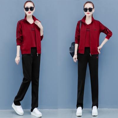 【韓國K.W.】氣質焦點新款潮流時尚套裝-4色
