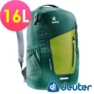 【德國DEUTER】StepOut 16L 休閒旅遊背包3810315綠/健行攻頂包